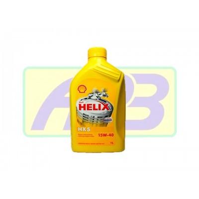 Óleo de Motor - Shell - Helix 15W-40   HX5 - Mineral  - 1LT