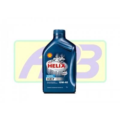 Óleo de Motor - Shell - Helix 10W-40   HX7  - Semi-Sintético - 1LT